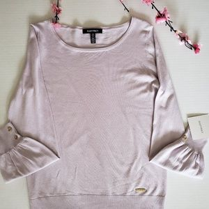 Ellen Tracy Lavender Sweater - Brand New
